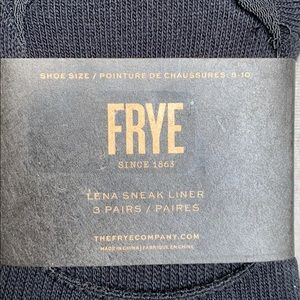 Frye Accessories - Frye 3 Pair No Show Lena Sneak Liner Socks Black